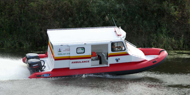 Photo bateau Ambulance 2